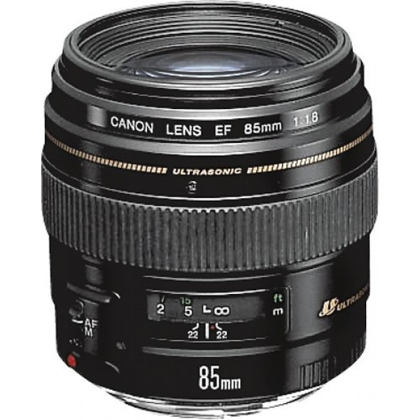 Canon - EF 85mm f/1.8 USM Medium Telephoto Lens - ...