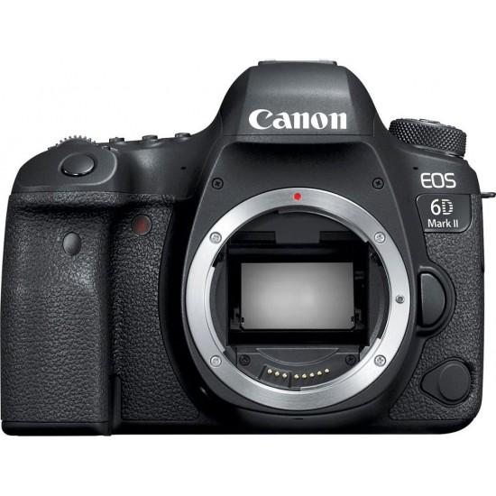 Canon - EOS 6D Mark II DSLR Camera (Body Only) - Black