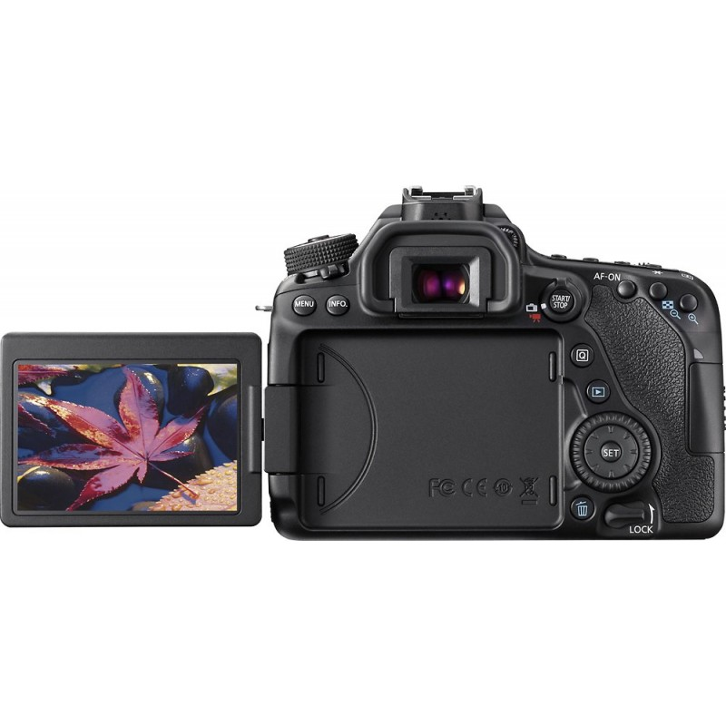 Canon - EOS 80D DSLR Camera (Body Only) - Black