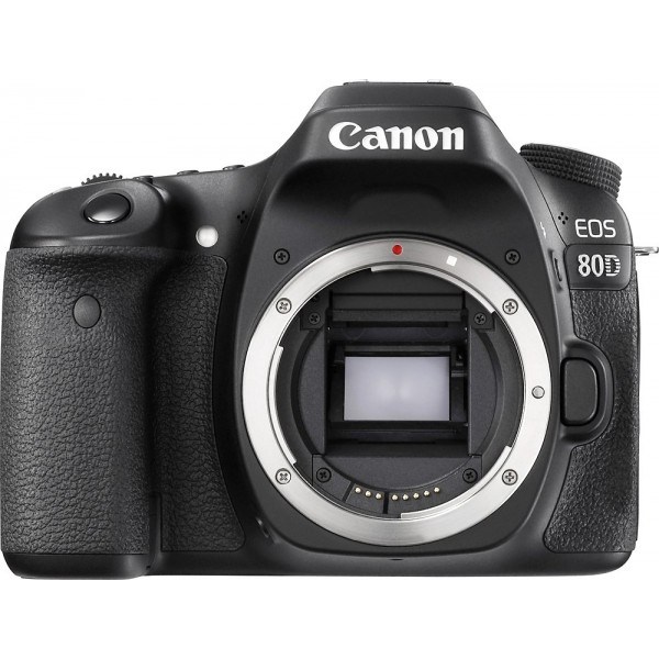 Canon - EOS 80D DSLR Camera (Body Only) - Black