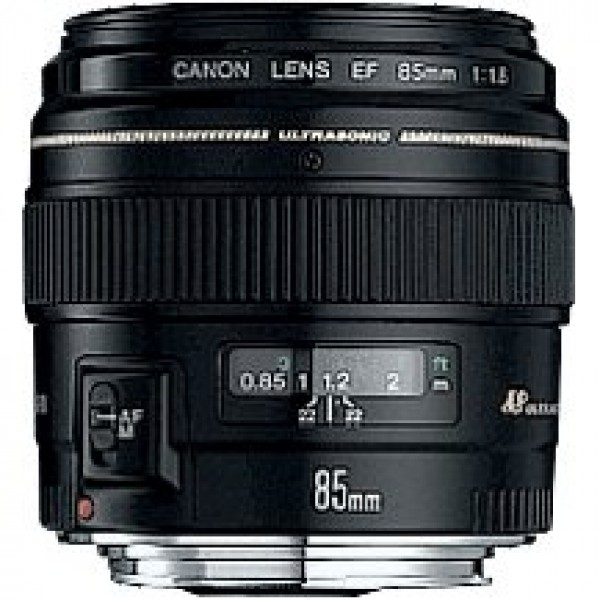 Canon - EF 85mm f/1.2L II USM Medium Telephoto Len...