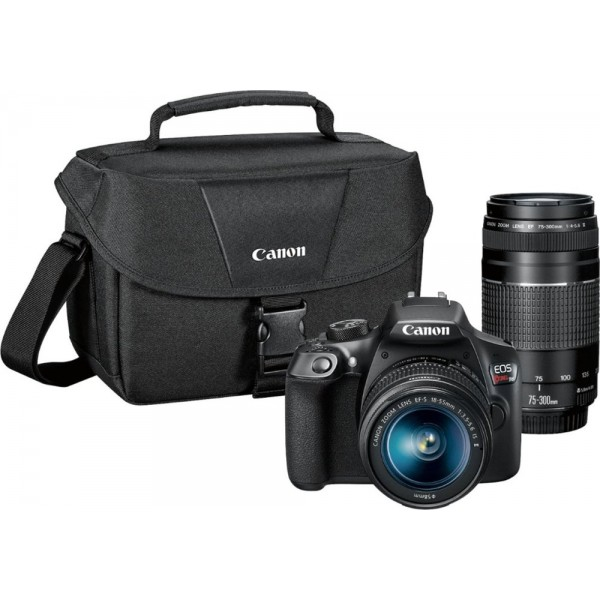 Canon - EOS Rebel T6 DSLR Camera with EF-S 18-55mm...