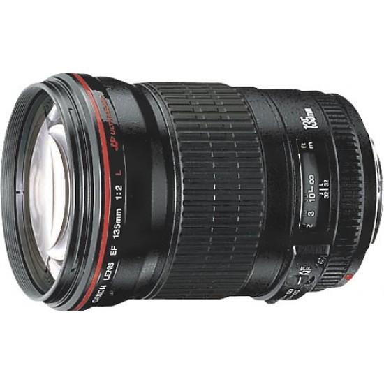 Canon - EF 135mm f/2L USM Telephoto Lens - Black