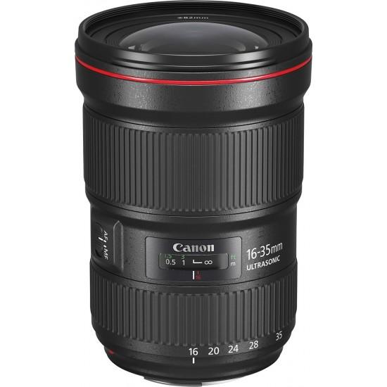 Canon - EF 16-35mm f/2.8L III USM Zoom Lens for Canon EF-mount cameras - Black