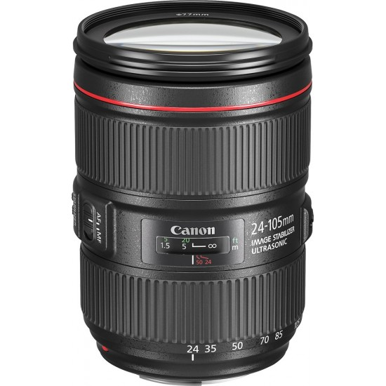 Canon - EF 24-105mm f/4L IS II USM Zoom Lens for Canon EF-mount cameras