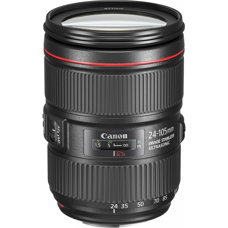 Canon - EF 24-105mm f/4L IS II USM Zoom Lens for C...