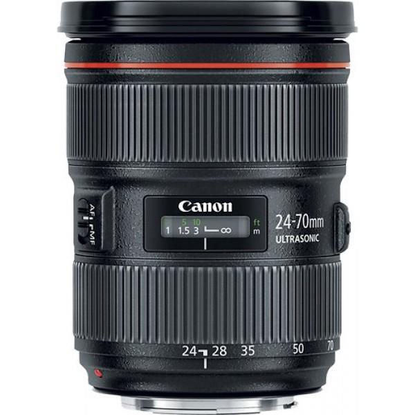 Canon - EF 24-70mm f/2.8L II USM Standard Zoom Len...