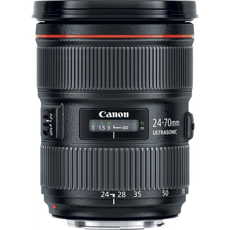 Canon - EF 24-70mm f/2.8L II USM Standard Zoom Lens - Black