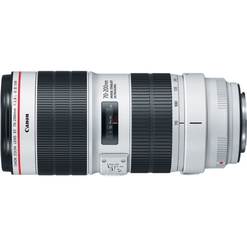 Canon - EF 70-200mm f/2.8L IS III USM Optical Telephoto Zoom Lens for Canon DSLRs