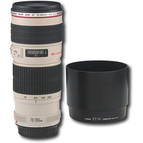 Canon - EF 70-200mm f/4L USM Telephoto Zoom Lens -...