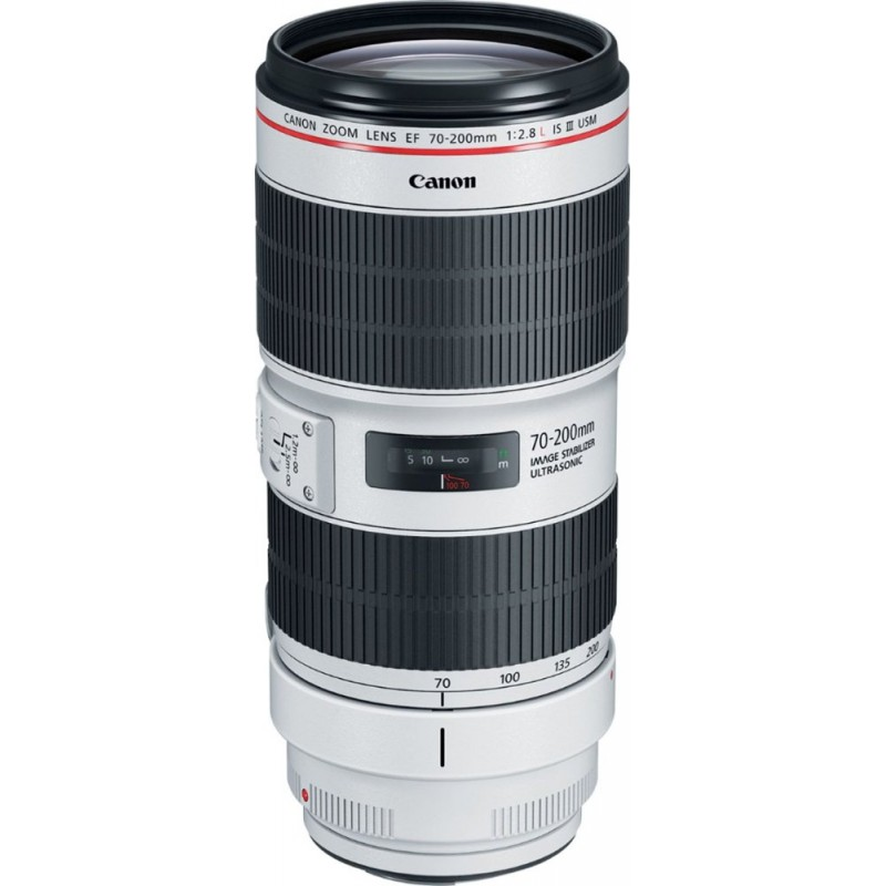 Canon - EF 70-200mm f/2.8L IS III USM Optical Tele...