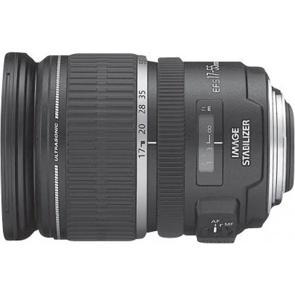 Canon - EF-S 17-55mm f/2.8 IS USM Standard Zoom Le...