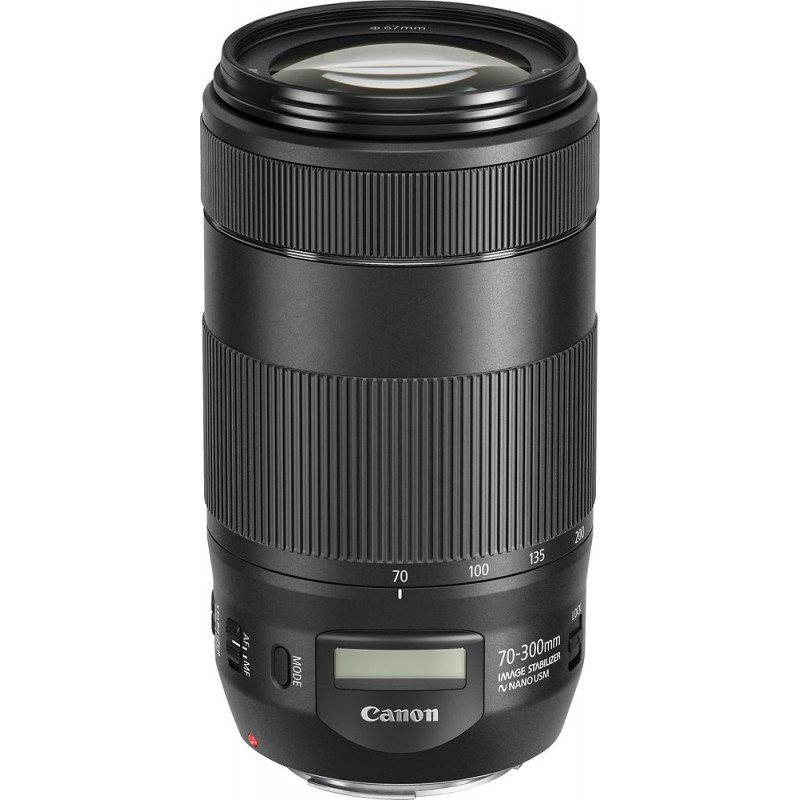 Canon - EF70-300 IS II USM Telephoto Zoom Lens for Canon DSLR Cameras - black