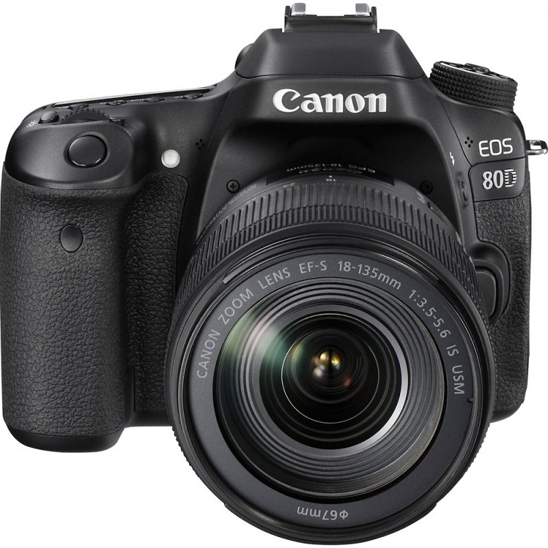 Canon - EOS 80D DSLR Camera with 18-135mm IS USM L...