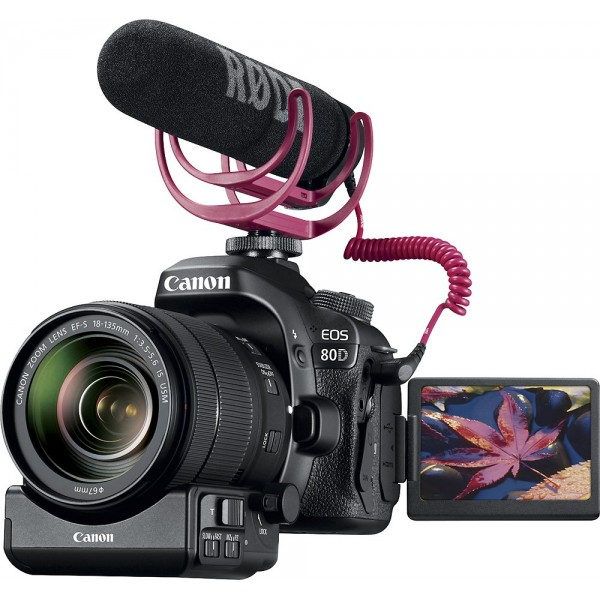 Canon - EOS 80D DSLR Camera with EF-S 18-135mm Len...