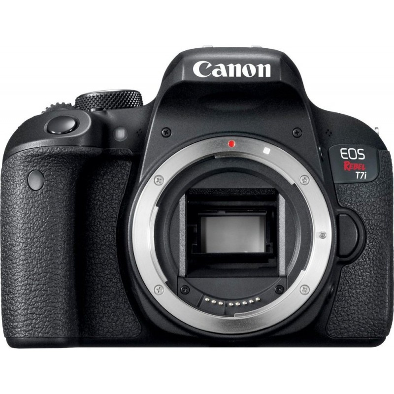 Canon - EOS Rebel T7i DSLR Camera (Body Only) - Black