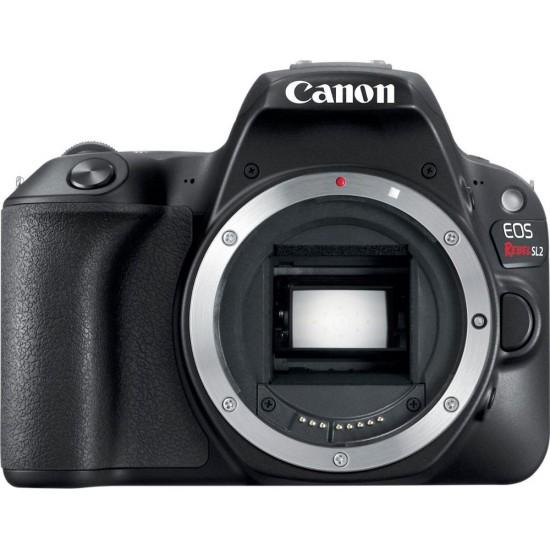 Canon - EOS Rebel SL2 DSLR Camera (Body Only) - Black