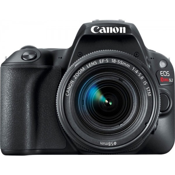 Canon - EOS Rebel SL2 DSLR Camera with EF-S 18-55m...
