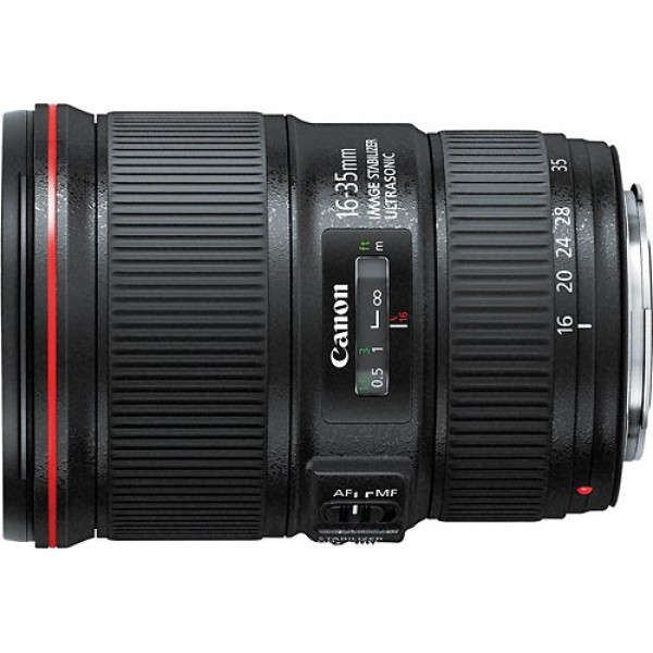 Canon - EF 16-35mm f/4L IS USM Ultra-Wide Zoom Len...