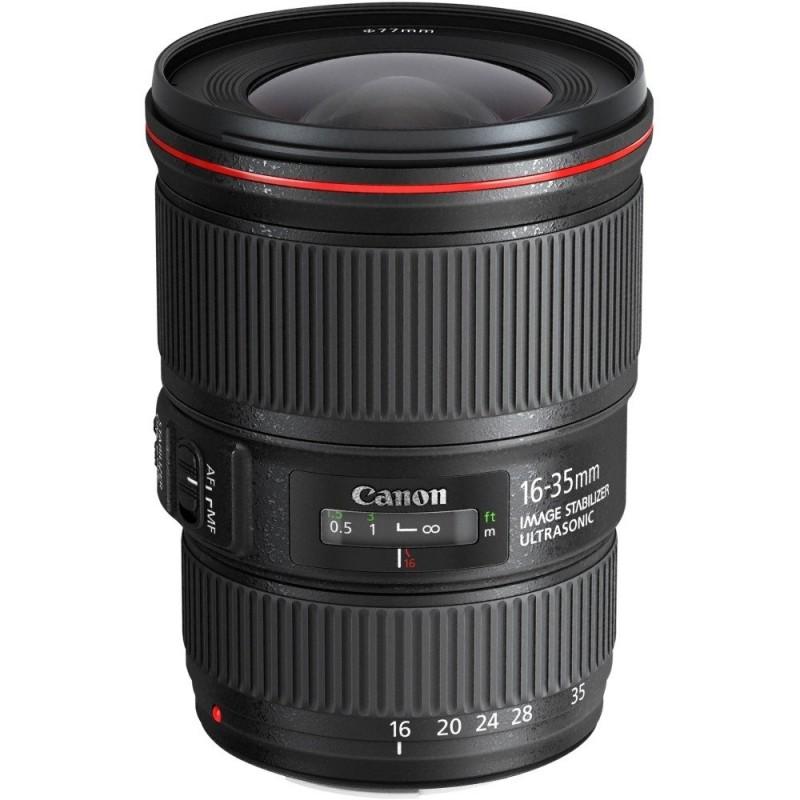 Canon - EF 16-35mm f/4L IS USM Ultra-Wide Zoom Lens - Black