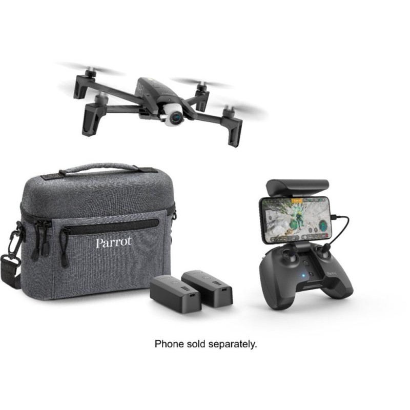 Parrot - ANAFI Extended Drone with Skycontroller - Dark Gray