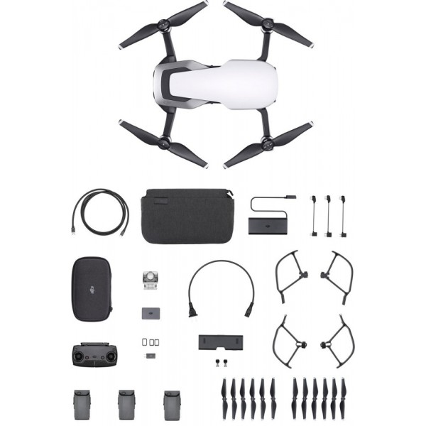 DJI - Mavic Air Fly More Combo Quadcopter with Rem...