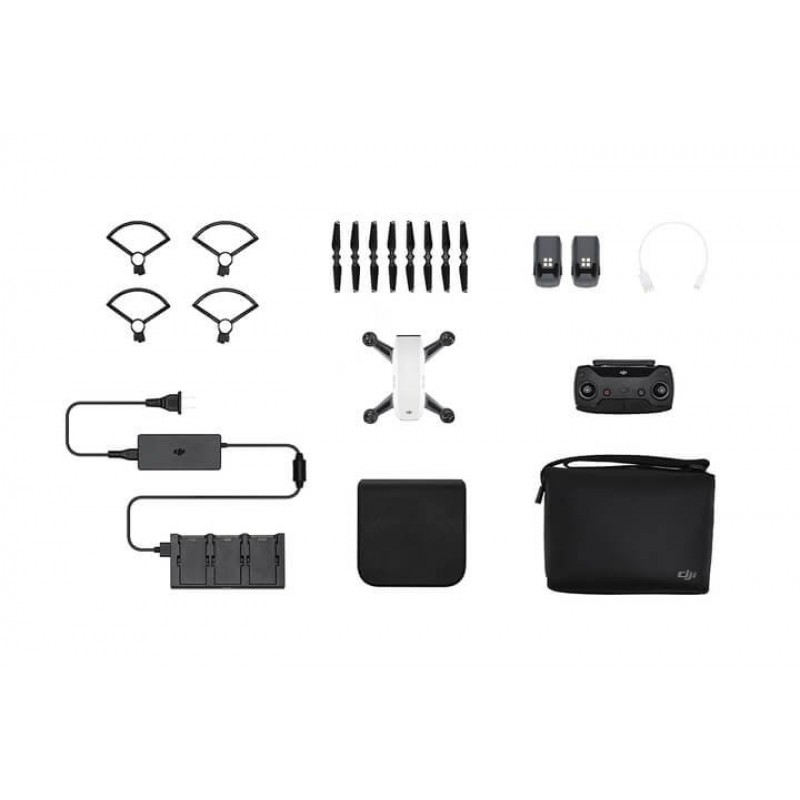 DJI - Spark Fly More Combo Quadcopter - Alpine White