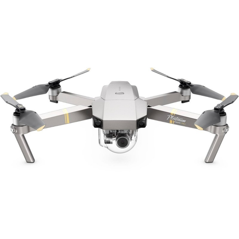 DJI - Mavic Pro Platinum Quadcopter with Remote Controller - Platinum