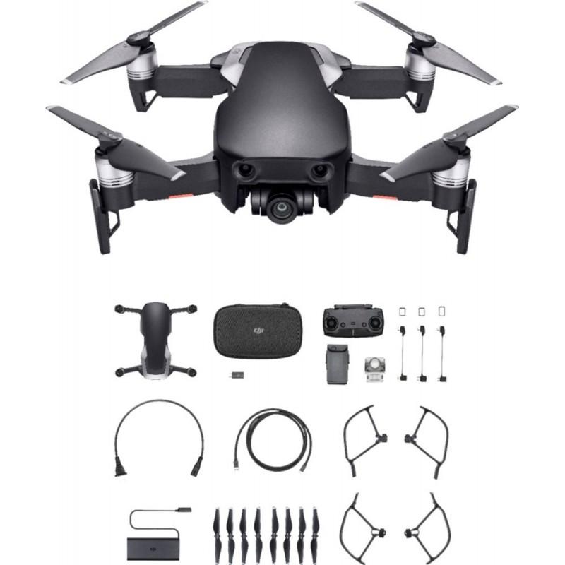 DJI - Mavic Air Quadcopter with Remote Controller - Onyx Black