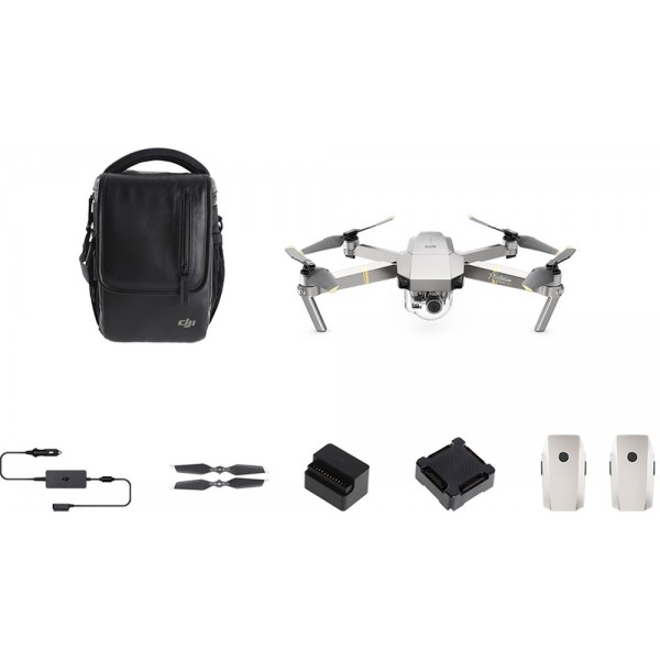 DJI - Mavic Pro Platinum Quadcopter Fly More Combo...