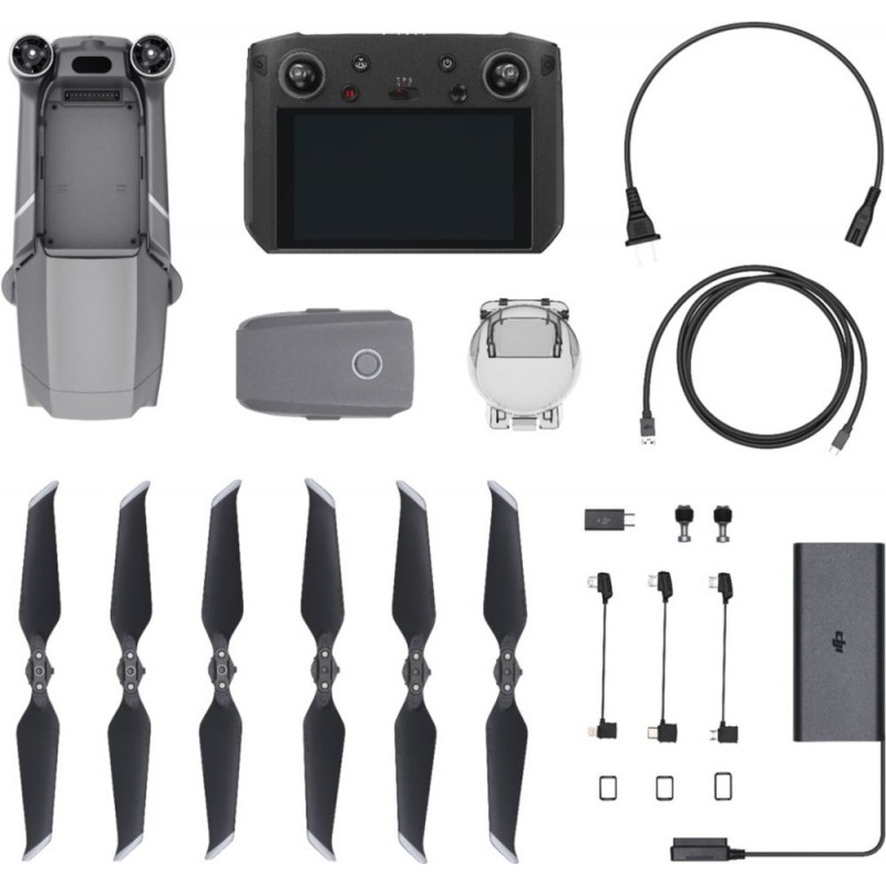 DJI - Mavic 2 Pro Quadcopter with DJI Smart Controller - Black