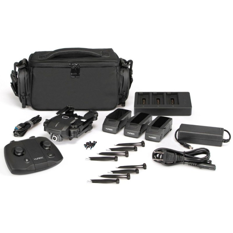 Yuneec - Mantis Q X-Pack Bundle Drone with Remote Controller - Black