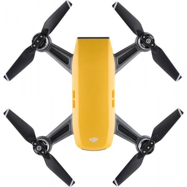 DJI - Spark Quadcopter - Yellow