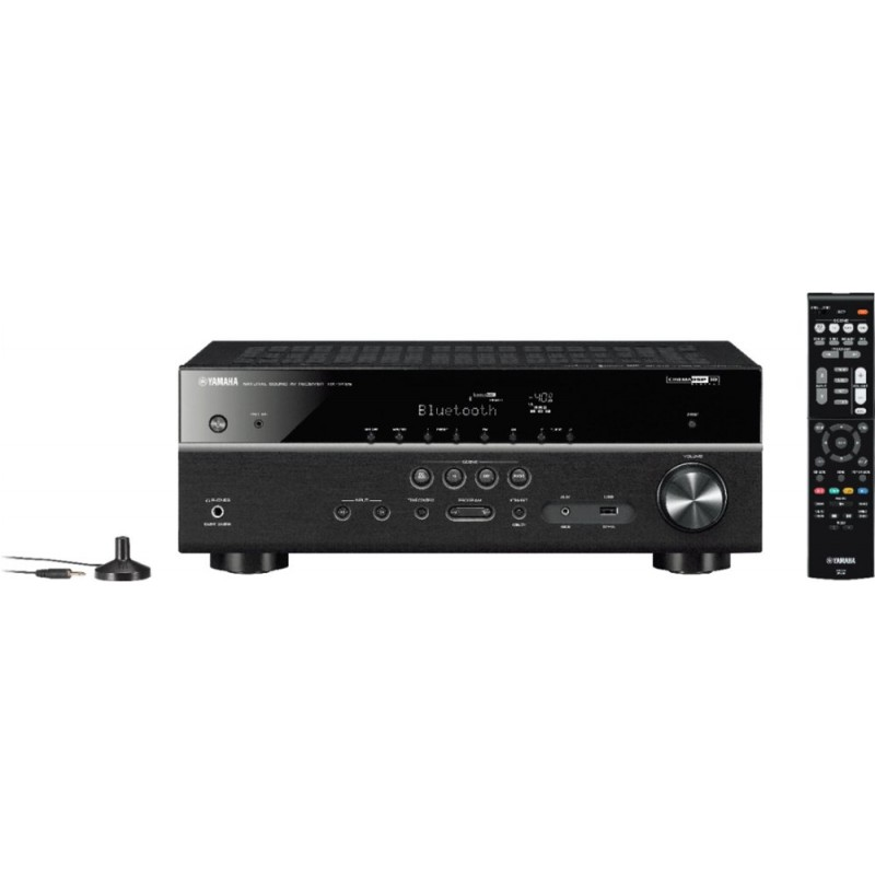Yamaha - 400W 5.1-Ch. 4K HDR Compatible A/V Home T...